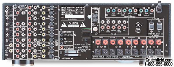 Denon AVR-3803 in stock at Crutchfield